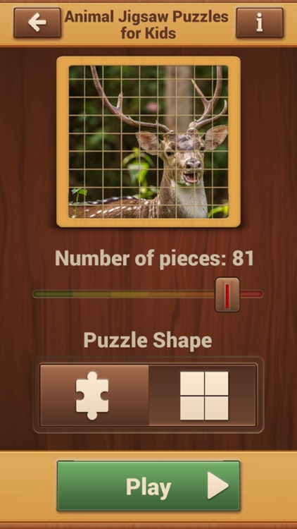 Animal Jigsaw Puzzles - Fun Logic Game screenshot-4