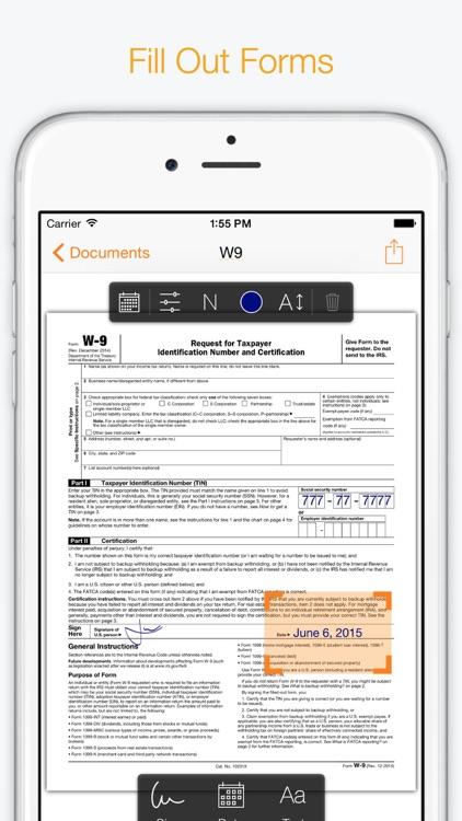 Genius Sign - Annotate PDF Documents