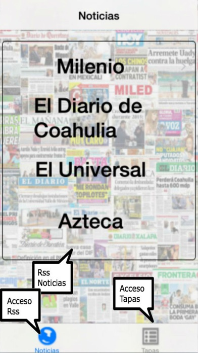 Entre Noticias Mexico screenshot one