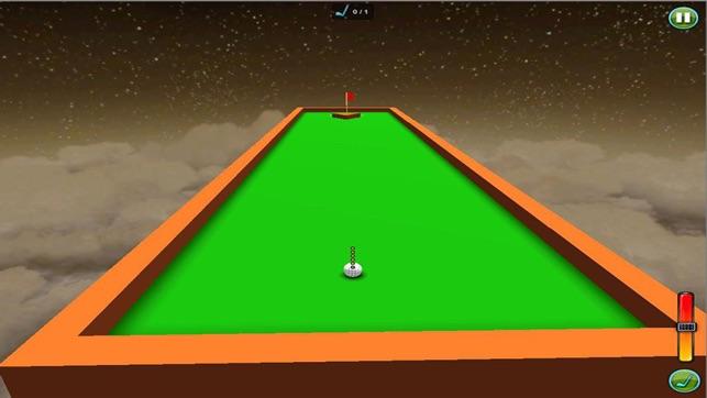 3d - minigolf - minigolf spiel Screenshot