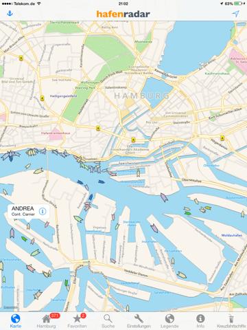Скриншот из Hafenradar