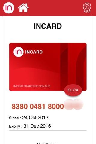 Screenshot of InCARD Apps