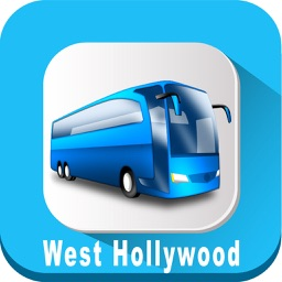 City of West Hollywood California USA where is Bus