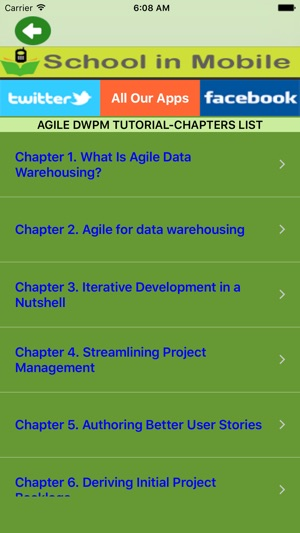 Agile Data WareHousing Project Management Tutorial Free on the App Store