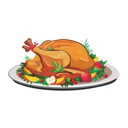 Food Stickers - Thanksgiving Food Emoji