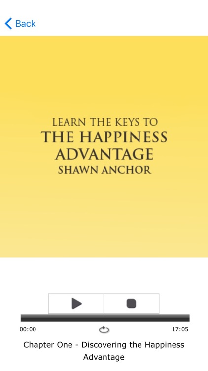 The Happiness Advantage by Shawn Achor Meditation screenshot-3