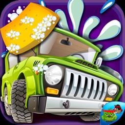 Car Wash-Free Car Salon & design game for kids
