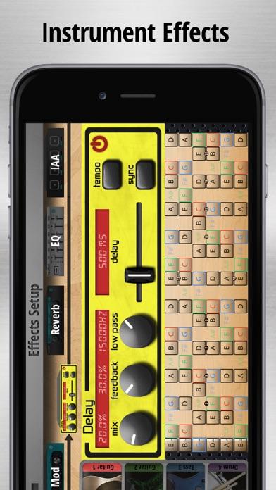 Jam Maestro: create guitar tab screenshot 5