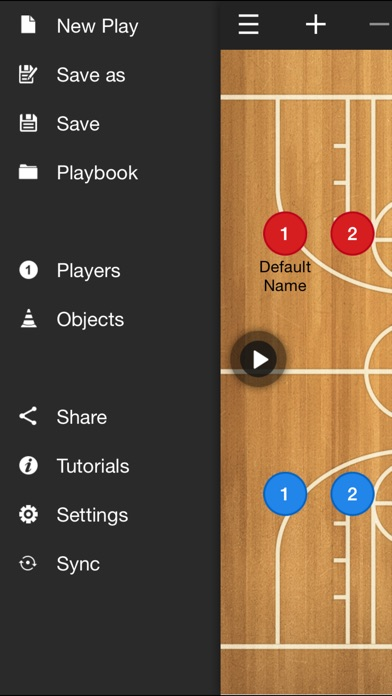 Basketball coach's clipboard Screenshot 2