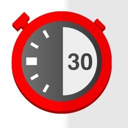 TimerFit:Tabata,HIIT,Workout,Boxing Interval Timer