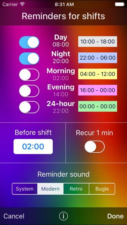 Workdays screenshot-4