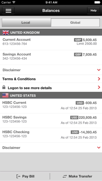 HSBC Mobile Banking screenshot-2