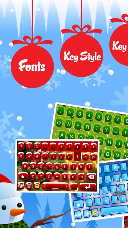 Christmas Emoji Keyboard Themes & Custom Keyboards
