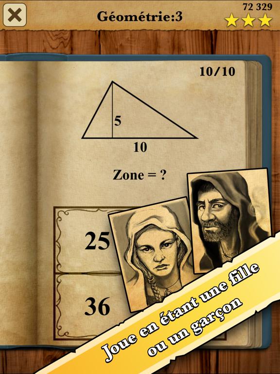 Screenshot #6 pour Roi des Maths : Jeu entier