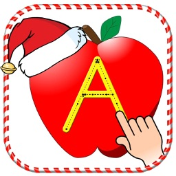 Christmas ABC Tracing Letters - Learning game