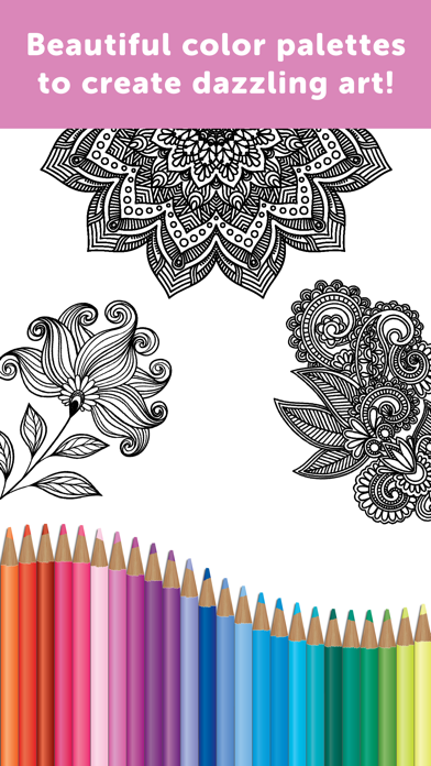 Adult Coloring Book - Coloring Book for Adultsのおすすめ画像5
