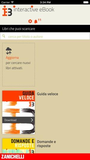 Interactive Ebook Zanichelli