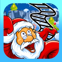 A Santa Roller Coaster Frenzy FREE - Downhill Christmas Rollercoaster Game