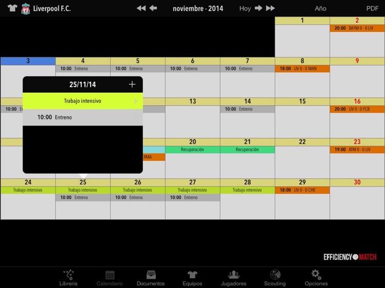 Efficiency Match Pro Futbol screenshot-4