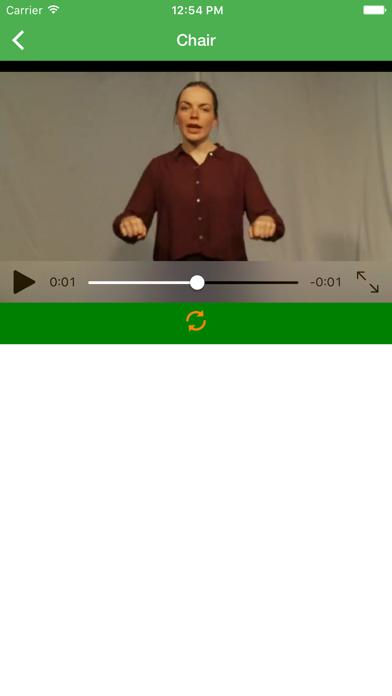 BSL British Sign Language screenshot two