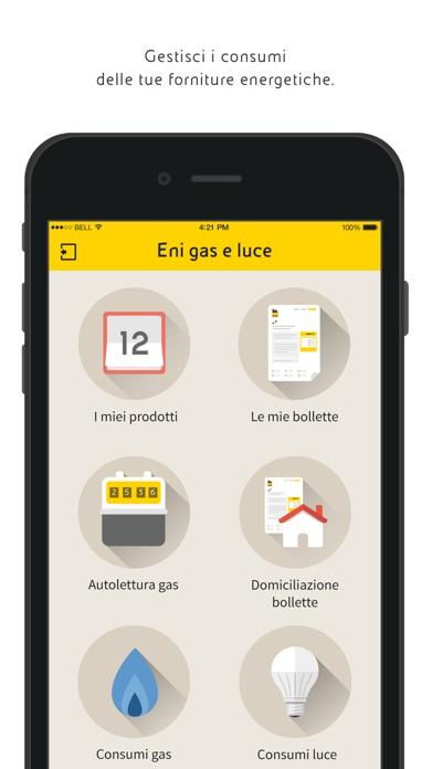 Eni gas e luce Screenshot