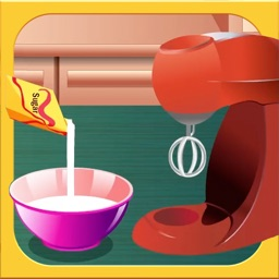 The free Cooking & Baking Game for Kids: Donut & Plum Cake Recipe