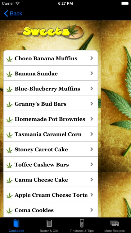 Weed Cookbook 2 - Medical Marijuana Recipes & Cook screenshot-4