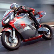 摩托车的驱动 . 摩托竞速游戏模拟器