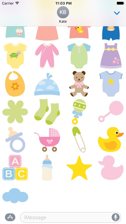 Baby Cuties for Stickers screenshot-3