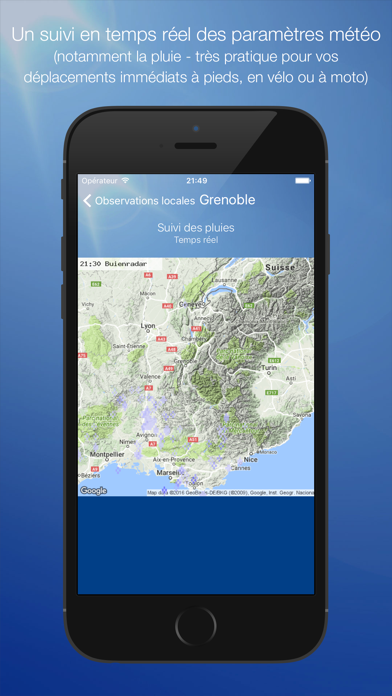 messages.download Météo Grenoble software