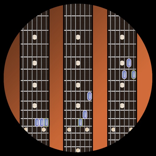 Efficient Guitar Triad Chords