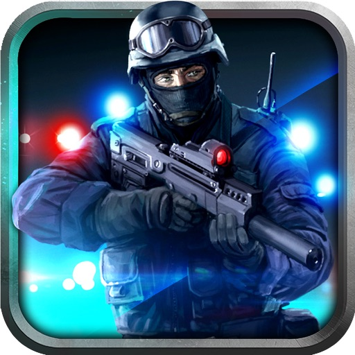 Police Anti Terrorist SWAT Shooter in Crime City