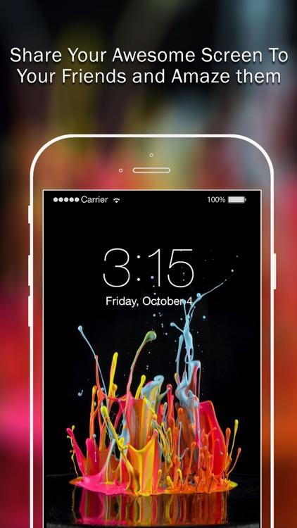 Splish Splash Color Backgrounds Pro screenshot-3