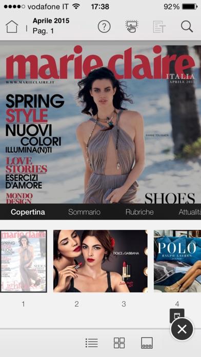 Marie Claire Italia Скриншоты7