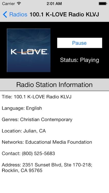 US Radio Live (United States of America USA)