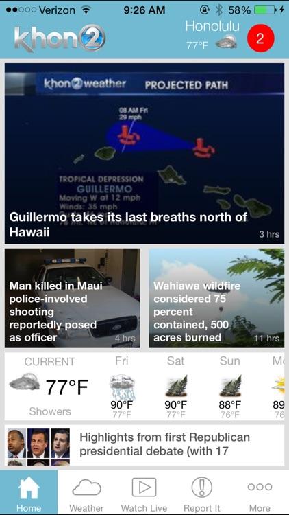 KHON2 News - Honolulu Hawaii News and Weather