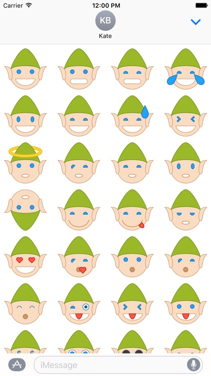 Elfie Stickers