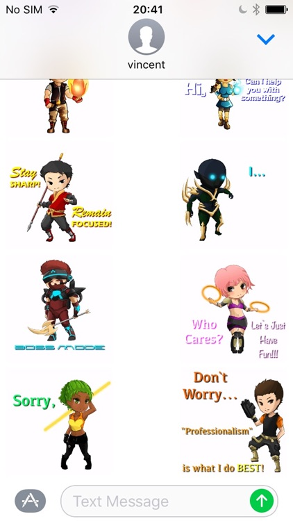 Wild FIRE SJ Blitz Stickers! screenshot-1
