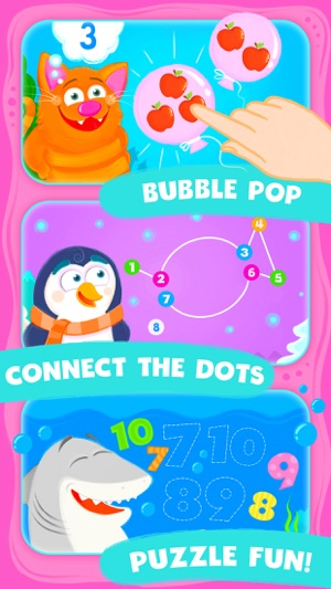 Animal Number Games for Toddlers Games for Free on the App Store