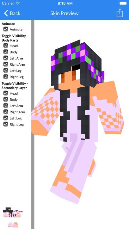 Aphmau Skins For MCPE - Best Aphmau Skins For Minecraft Pocket Edition screenshot-3