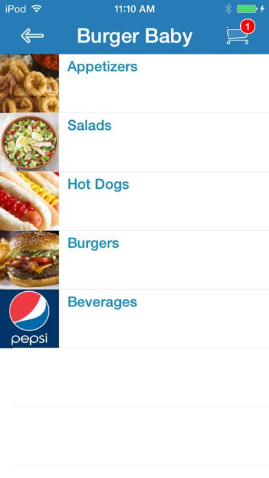 Burger Baby screenshot two