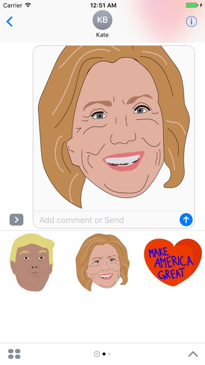 American Election Stickers screenshot-3
