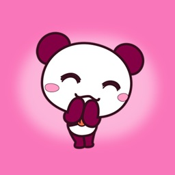 Lovely Panda - Beautiful Stickers for iMessage