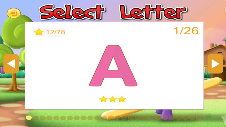 ABC English Alphabet drawing Tracing for kid screenshot-4