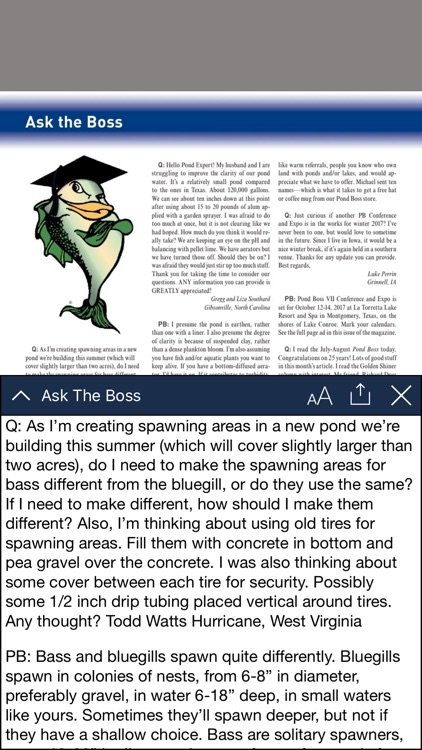 Pond Boss Magazine screenshot-3