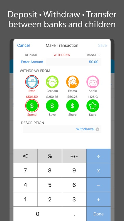 iEarn: Allowance, Chores, Banks & Rewards screenshot-3