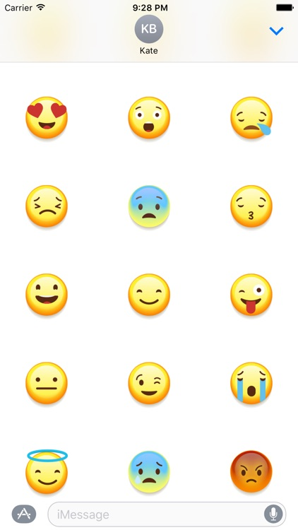 Emoji 3D Stickers for iMessage