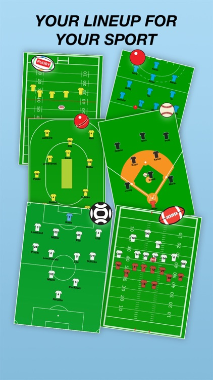 Team Lineup PRO Soccer