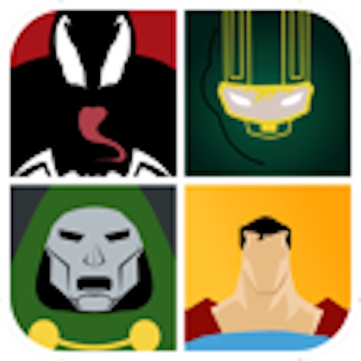 Guess the Heroes vs. Villains! iOS App