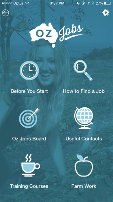 Oz Jobs screenshot one